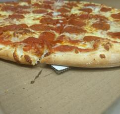 Thin-Crust Pepperoni Pizza