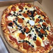 Pepperoni & Olive Pizza