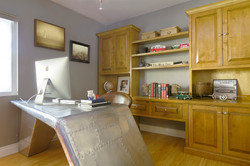 Modular home office and storage unit