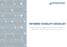 Network Visibility Checklist