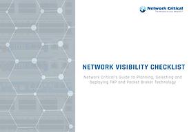 Network Visibility Checklist eBook