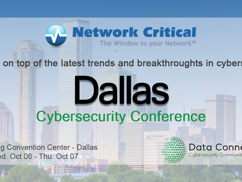 Dallas, Texas invites you to the IT and Computer Networking Event October 6th & 7th