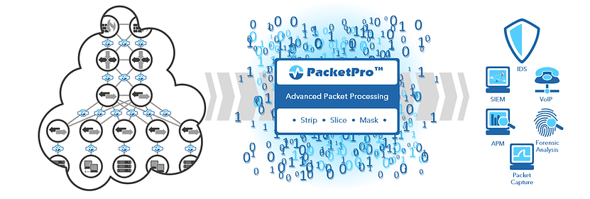 PacketPro packet manipulation Diagram