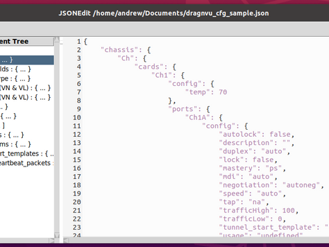 Text-Based JSON Config Files