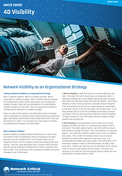 Complete network visibility
