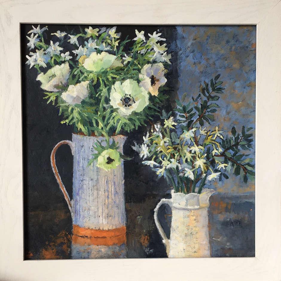 WINTER FLOWERS, Anita Pickles