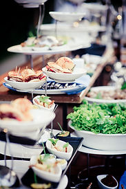 Wedding Reception Food Station