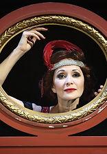Ольга Кабо в спектакле «Карнавальная ночь» (венцианская комедия)