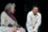 Александр Олешко в спектакле «Где мы?..» с Александом Ширвиндтом. Фото: Александра Дубровская