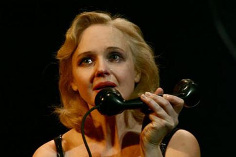 Елена Сотникова. Фотография спектакля «Глубокое синее море», 2007 год