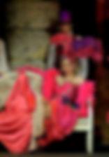 Лидия Вележева. Фотография спектакля «Мадемуазель Нитуш», 2015 год