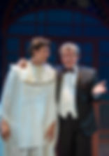 Андрей Ильин и Илья Бледный в спектакле «Карнавальная ночь» (венецианская комедия), фото Лизы Бузовой