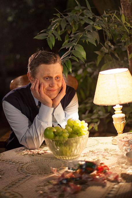 Олег Лопухов. Фотография со съёмок сериала «Жених для дурочки»