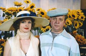 Елена Сотникова и Андрей Зарецкий. Фотография спектакля «Чулимск прошлым летом», 2005 год