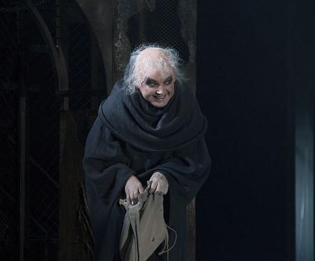Елена Сотникова. Фотография спектакля «Ричард III», 2017 год