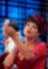 Лидия Вележева. Фотография спектакля «Обычное дело»