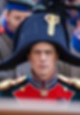 Леонид Бичевин. Фотография со съемок фильма«Союз Спасения», 2019 год