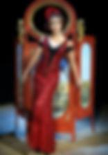 Ольга Кабо в спектакле «Карнавальная ночь» (венецианская комедия), фото Натальи Бухониной