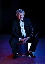 Андрей Ильин в спектакле «Карнавальная ночь» (венецианская комедия), фото Натальи Бухониной