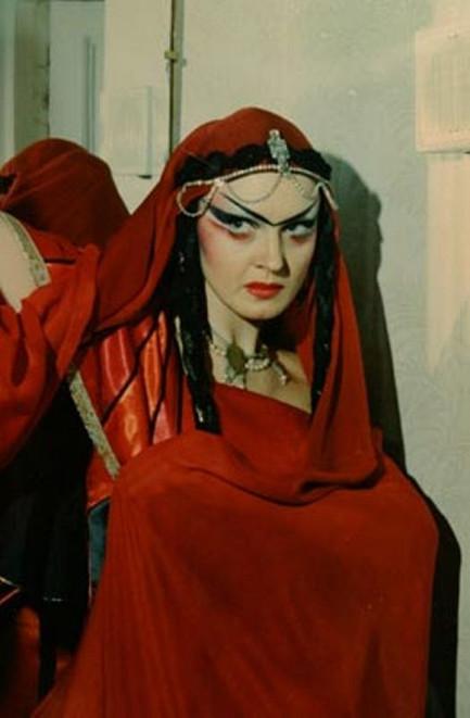 Елена Сотникова. Фотография спектакля «Принцесса Турандот», 1996 год