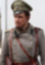 Леонид Бичевин. Фотография со съемок сериала«Хождение по мукам», 2017 год