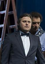 Олег Лопухов. Фотография спектакля «Бенефис»