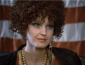 Елена Сотникова. Фотография со съёмок фильма «Способ убийства», 1993 год