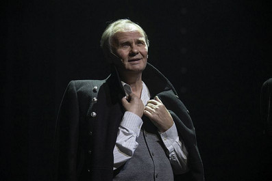 Михаил Васьков. Фотография спектакля «Люся. Признание в любви», фото: Валерий Мясников