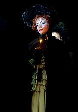 Александра Стрельцина. Фотография спектакля «Пиковая дама», 2009 год