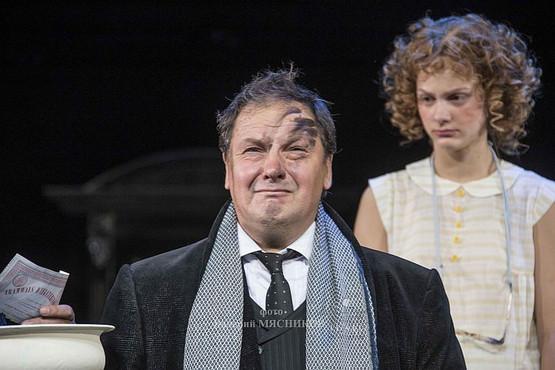 Александр Рыщенков. Фотография спектакля «Возьмите зонт, мадам Готье!», фото: Валерий Мясников