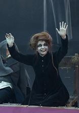 Александра Стрельцина. Фотография спектакля «Ричард 3», 2018 год