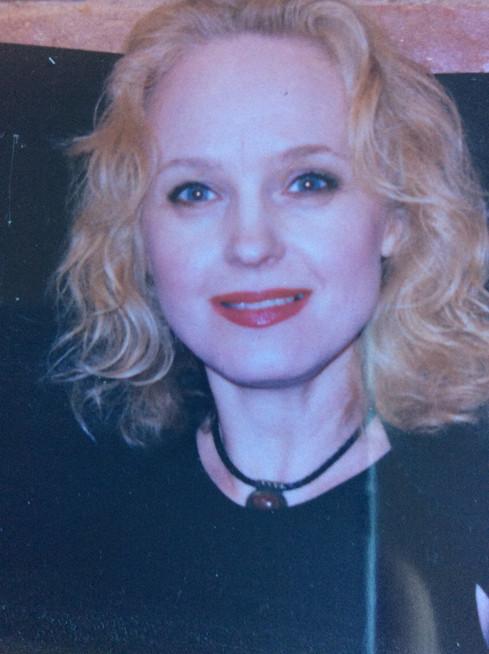 Елена Сотникова. Фотография из личного архива