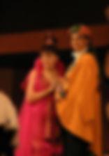 Александр Рыщенков и Марина Есипенко. Фотография спектакля «Принцесса Турандот»