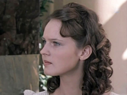 Елена Сотникова. Фотография со съёмок фильма «Кража», 1982 год