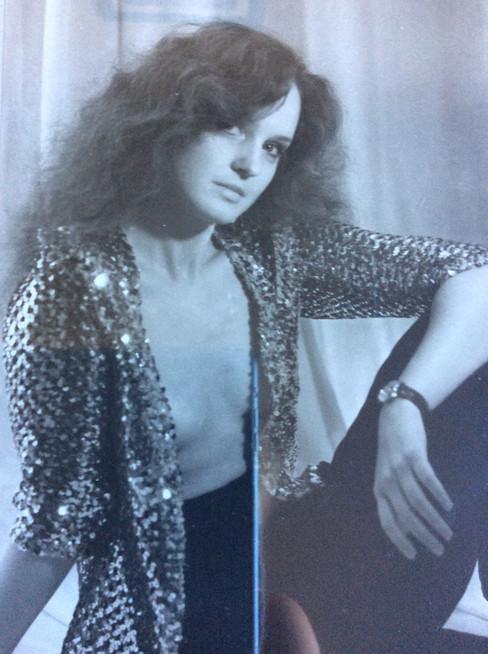 Елена Сотникова. Фотография с фотосесии из личного архива