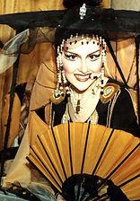Марина Есипенко. Фотография с репетиции спектакля «Принцесса Турандот», 1996 год