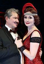 Ольга Кабо и Андрей Ильин в спектакле «Карнавальная ночь» (венцианская комедия)