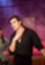 Леонид Бичевин. Фотография с репетиции спектакля«Carmen», 2012 год