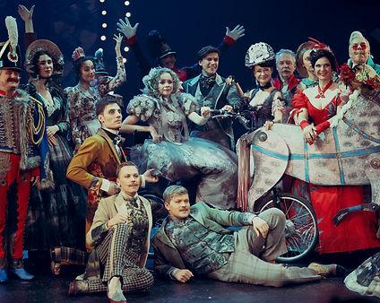 Актёры спектакля «Соломенная шляпка», фото Яны Овчинниковой