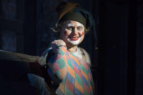 Олег Лопухов. Фотография спектакля «Вечер шутов», фото: Валерий Мясников