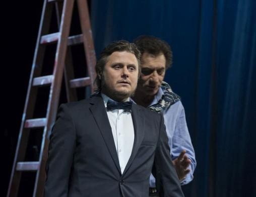 Олег Лопухов. Фотография спектакля «Бенефис», фото: Валерий Мясников