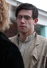 Леонид Бичевин. Фотография со съемок фильма«Морфий», 2008 год