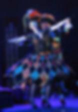 Ольга Кабо и Андрей Ильин в спектакле «Карнавальная ночь» (венецианская комедия), фото Натальи Бухониной