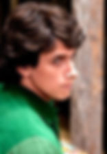 Леонид Бичевин. Фотография со съемок фильма«Шагал-Малевич», 2013 год