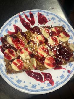 Crunchy Raspberry French Toast
