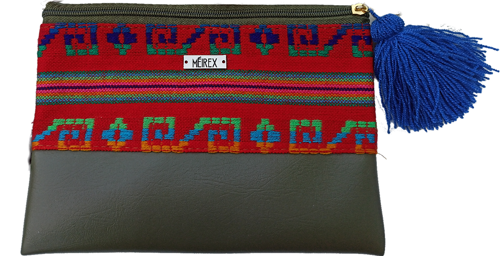 Handmade Cambaya Yucatan Makeup Bag