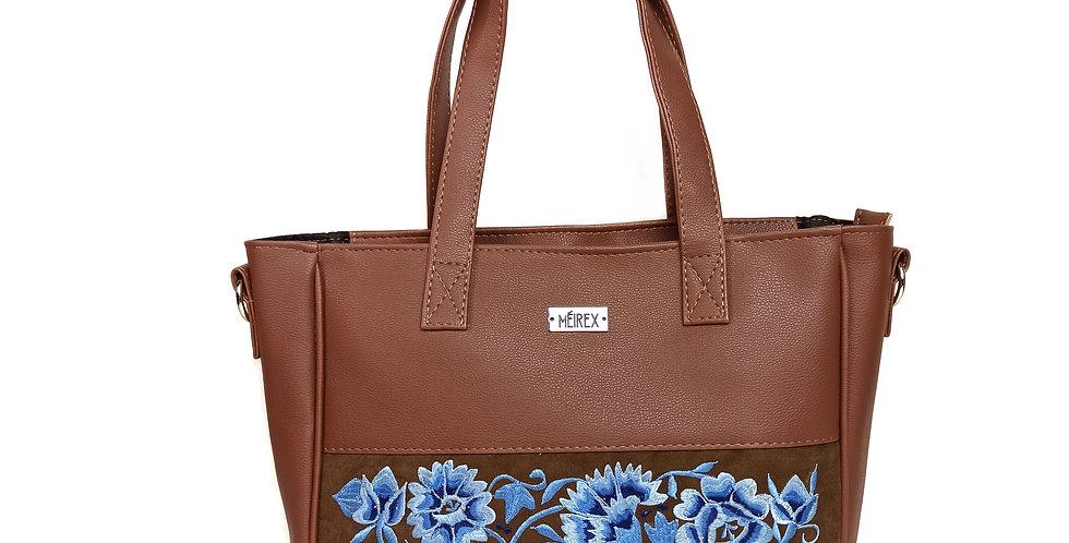 Handmade Embroidered Yucatan Laptop Bag