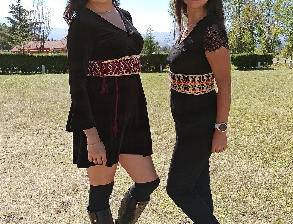 Mazahua belts