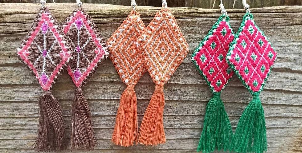 Chiapas handmade earrings