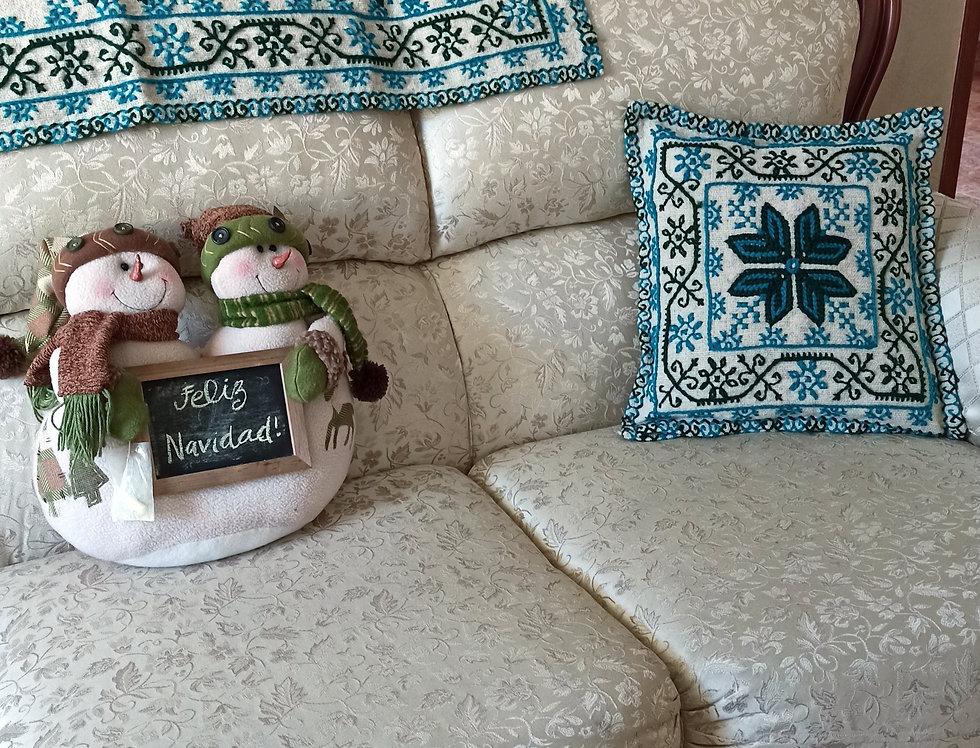 Mazahua Cushion Covers & Table Runner Set